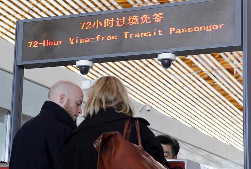 72 hours Visa-free Transit Passenger